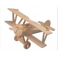 3D Деревянный конструктор SEA-LAND Модель Истребитель-биплан Ньюпор 17