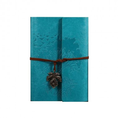 Винтажный блокнот Vintage Style Древо жизни Голубой