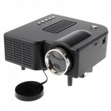 Проектор UNIC UC28 с поддержкой HDMI, VGA, USB, AV, SD + пульт Black