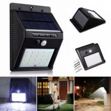 Светодиодный Навесной фонарь с датчиком движения Ever Brite 609 + solar 20 диодов