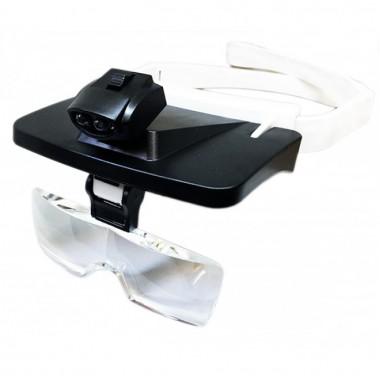 Бинокулярные очки со светодиодной подсветкой Magnifier TH-9203 с Чехлом для линз