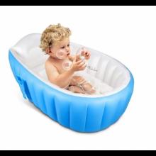 Надувная детская ванночка для купания INTIME BABY YT-226A Синий