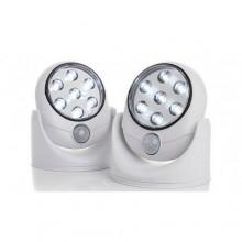 Беспроводной светодиодный LED светильник с датчиком движения Light Angel White